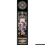 Stained Glass Inc. - The Lord Ascends Panel #1267 - Stained Glass Window Insert