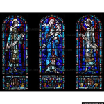 Stained Glass Inc. - Blessed Virgin Mother and Child Panel #4902 - Stained Glass Window Insert