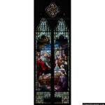 Stained Glass Inc. - Matthew 14:36 Panel #4289 - Stained Glass Window Insert
