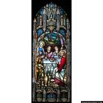 Stained Glass Inc. - Miracle at Cana Panel #4006 - Stained Glass Window Insert