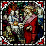 Stained Glass Inc. - The Blessing of the Wine Panel #4066 - Stained Glass Window Insert