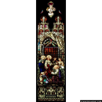 Stained Glass Inc. - The First Miracle of Christ Panel #1834 - Stained Glass Window Insert