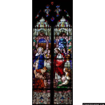 Stained Glass Inc. - Wedding Miracle Panel #1380 - Stained Glass Window Insert