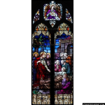 Stained Glass Inc. - Widow's Son Resurrected Panel #2009 - Stained Glass Window Insert