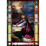 Stained Glass Inc. - Prayer Room Stained Glass Window Panels