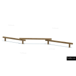The 4 Kids - Balancing - Play Structures - Triple Balance Beam