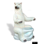 The 4 Kids - Furniture - Playgrounds - Polar Bear Chair