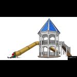 The 4 Kids - Amherst Gazebo w Slide