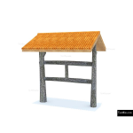 The 4 Kids - Shade/Shelter Structures - Bridger Covered Sign