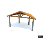 The 4 Kids - Shade/Shelter Structures - Shenandoah Band Shell