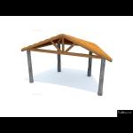 The 4 Kids - Shade/Shelter Structures - Shenandoah Band Shell