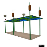 The 4 Kids - Shade/Shelter Structures - Water Lily Pergola