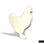 The 4 Kids - Signage - Chicken Cutout