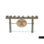 The 4 Kids - Signage - Pueblo Sign