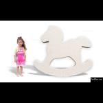 The 4 Kids - Signage - Rocking Horse Cutout