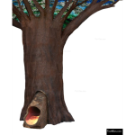The 4 Kids - Tree Trunk Slide