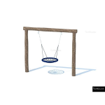 The 4 Kids - Swings - Playgrounds - Basket Swing