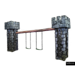 The 4 Kids - Swings - Playgrounds - Castle Swing Set