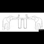 The 4 Kids - Swings - Playgrounds - Elephant Tusks Swings
