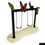 The 4 Kids - Swings - Playgrounds - Metamorpho Swing