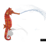 The 4 Kids - Water Features - Seahorse Play Fountain