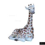 The 4 Kids - Climbers - Play Structures - 4ft Sitting Giraffe