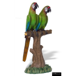 The 4 Kids - Play Sculptures - Buffon Macaw Pair Sculpture