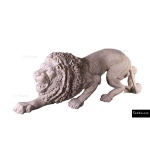 The 4 Kids - Play Sculptures - Crouching Stone Lion