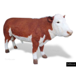 The 4 Kids - Play Sculptures - Hereford Bull