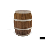The 4 Kids - Play Sculptures - Pirate's Barrel