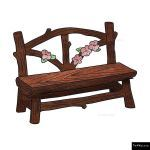 The 4 Kids - Furniture - Playgrounds - Pixe Hollow Bench