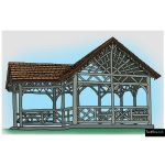 The 4 Kids - Adirondack Gazebo
