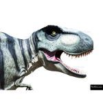 The 4 Kids - Play Sculptures - 8ft Hunting T-Rex