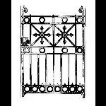 Historical Bronze Works - HBW-GA09 Gates