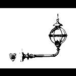 Historical Bronze Works - HBW-LF30 Light Fixtures