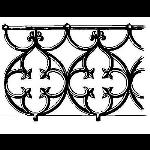 Historical Bronze Works - HBW-RAIL03 Railings