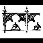 Historical Bronze Works - HBW-RAIL04 Railings