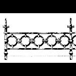 Historical Bronze Works - HBW-RAIL06 Railings