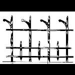 Historical Bronze Works - HBW-RAIL08 Railings