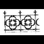 Historical Bronze Works - HBW-RAIL10 Railings