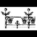 Historical Bronze Works - HBW-RAIL25 Railings
