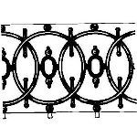 Historical Bronze Works - HBW-RAIL13 Railings