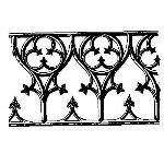 Historical Bronze Works - HBW-RAIL15 Railings