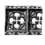 Historical Bronze Works - HBW-RAIL02 Railings