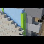 SMARTci - Brick on CMU Wall