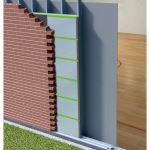 SMARTci - SMARTci 2.5 in 1 Insulation System Over Open Stud Framing Used With Adhesive AWB