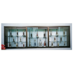 Claridge Products - 370 Recessed Display Case - BUILD Series