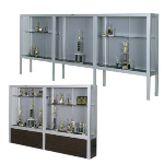 Claridge Products - Premiere Freestanding Display Cases