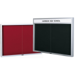 Claridge Products - Imperial Series Bulletin and Directory Board Cabinet