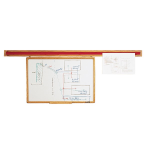 Claridge Products - WDR WOODEN DISPLAY RAIL